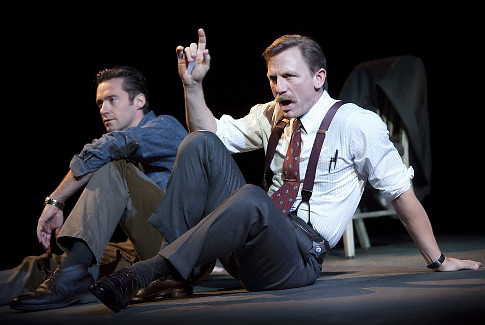 Theater Review A Steady Rain