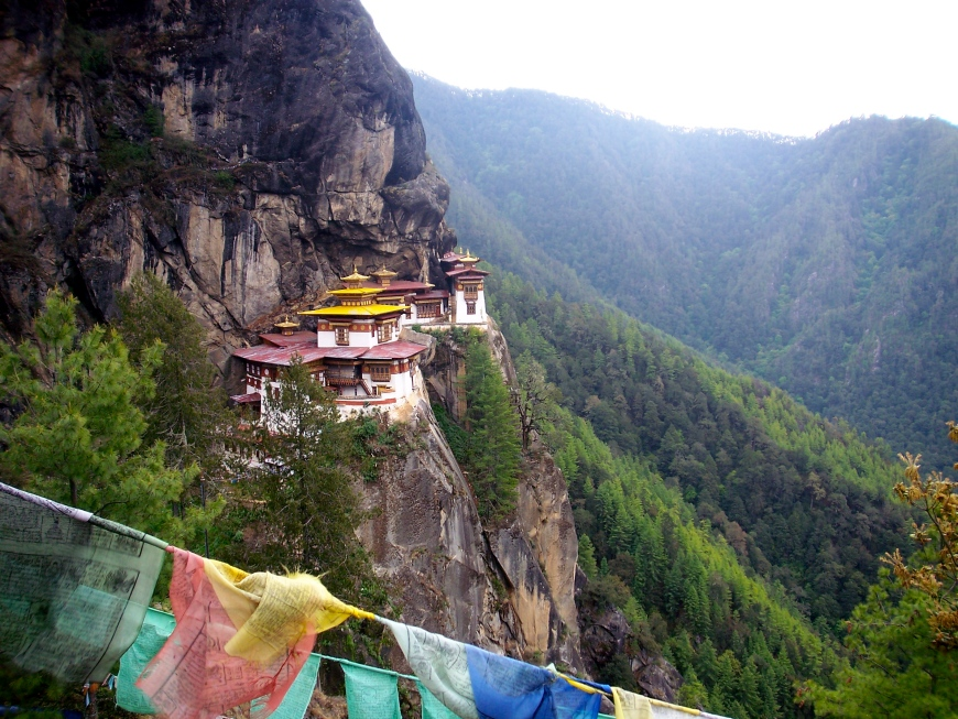 Tiger's Nest, Bhutan, slimpaley.com