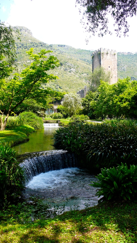Ninfa gardens, outside Rome