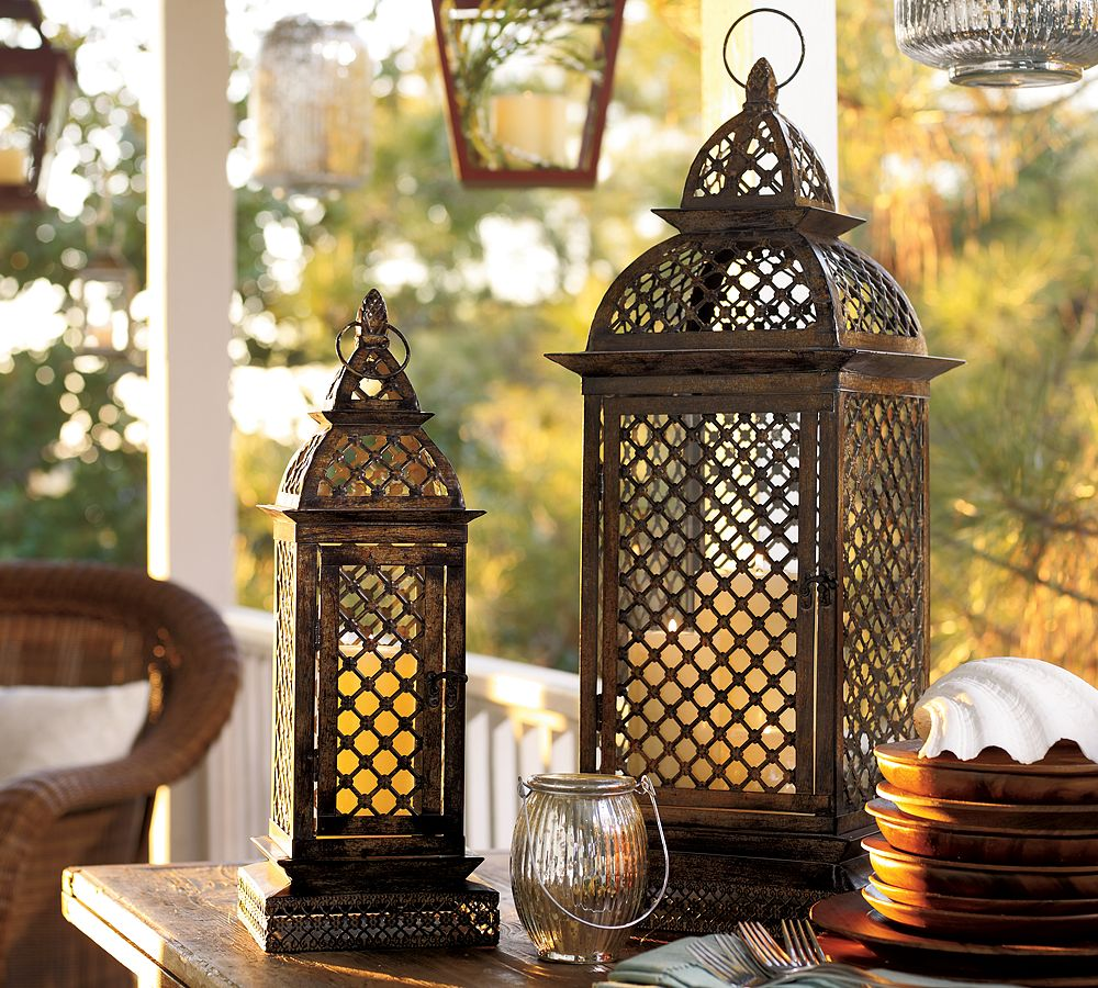 Pottery Barn Lanterns