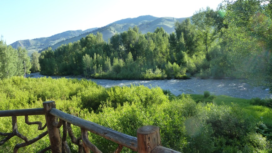 Big Wood River, Sun Valley, Idaho