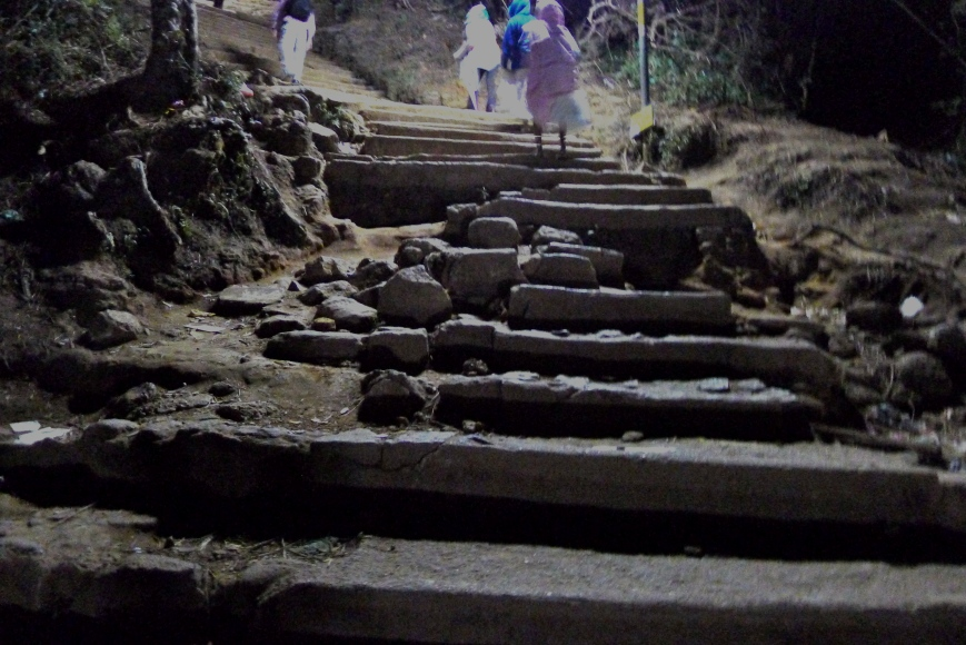Steps of Adam's Peak, Sri Lanka