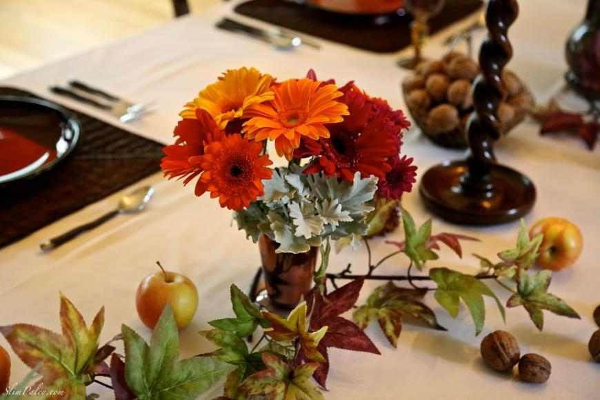 Autumn floral displays