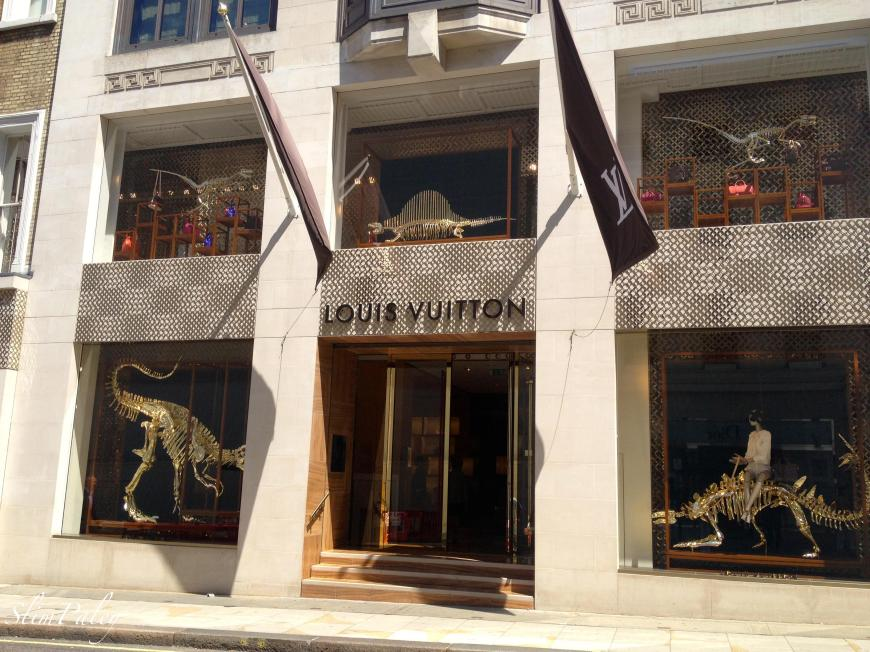 Louis Vuitton windows London