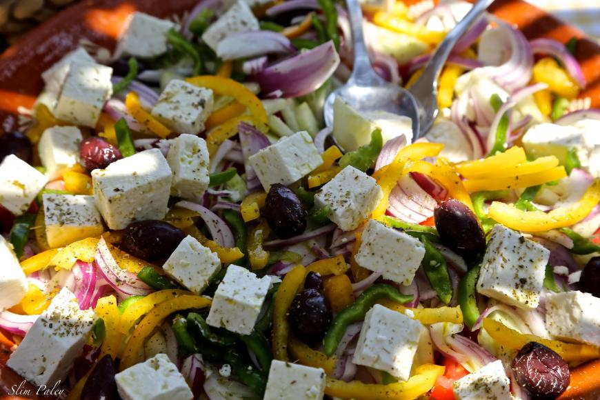 real Greek salad