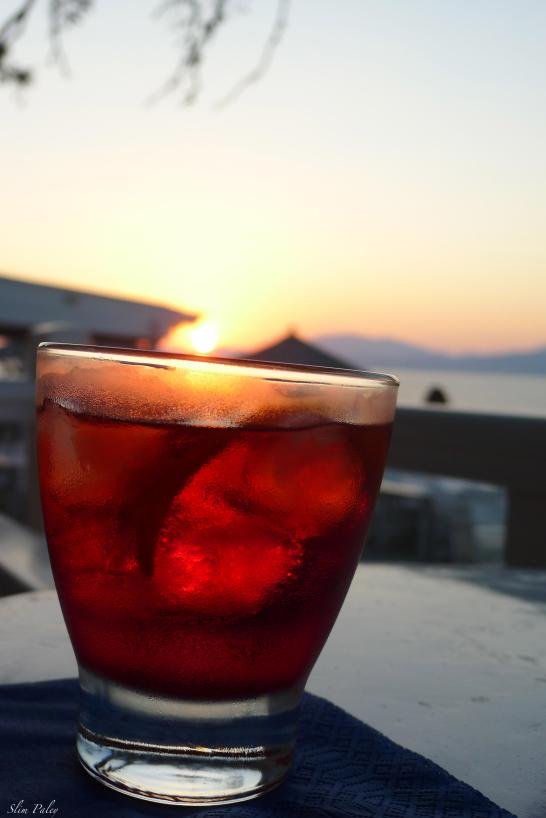 Negroni cocktail, Greece