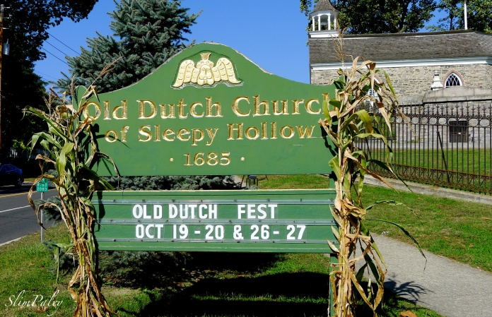 Old Dutch Church, Sleepy Hollow, slimpaley.com