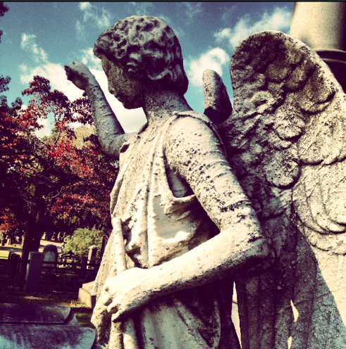 cemetery angel , slimpaley.com