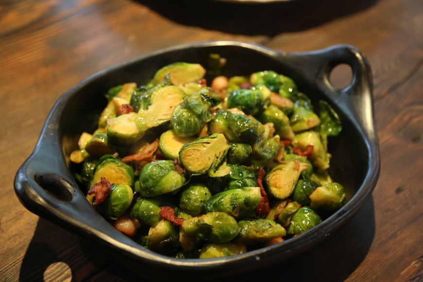 brussel sprouts with lardon